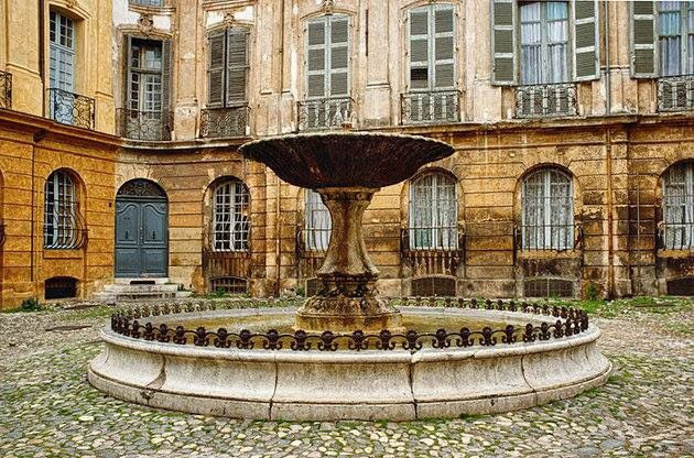 Fountain in France