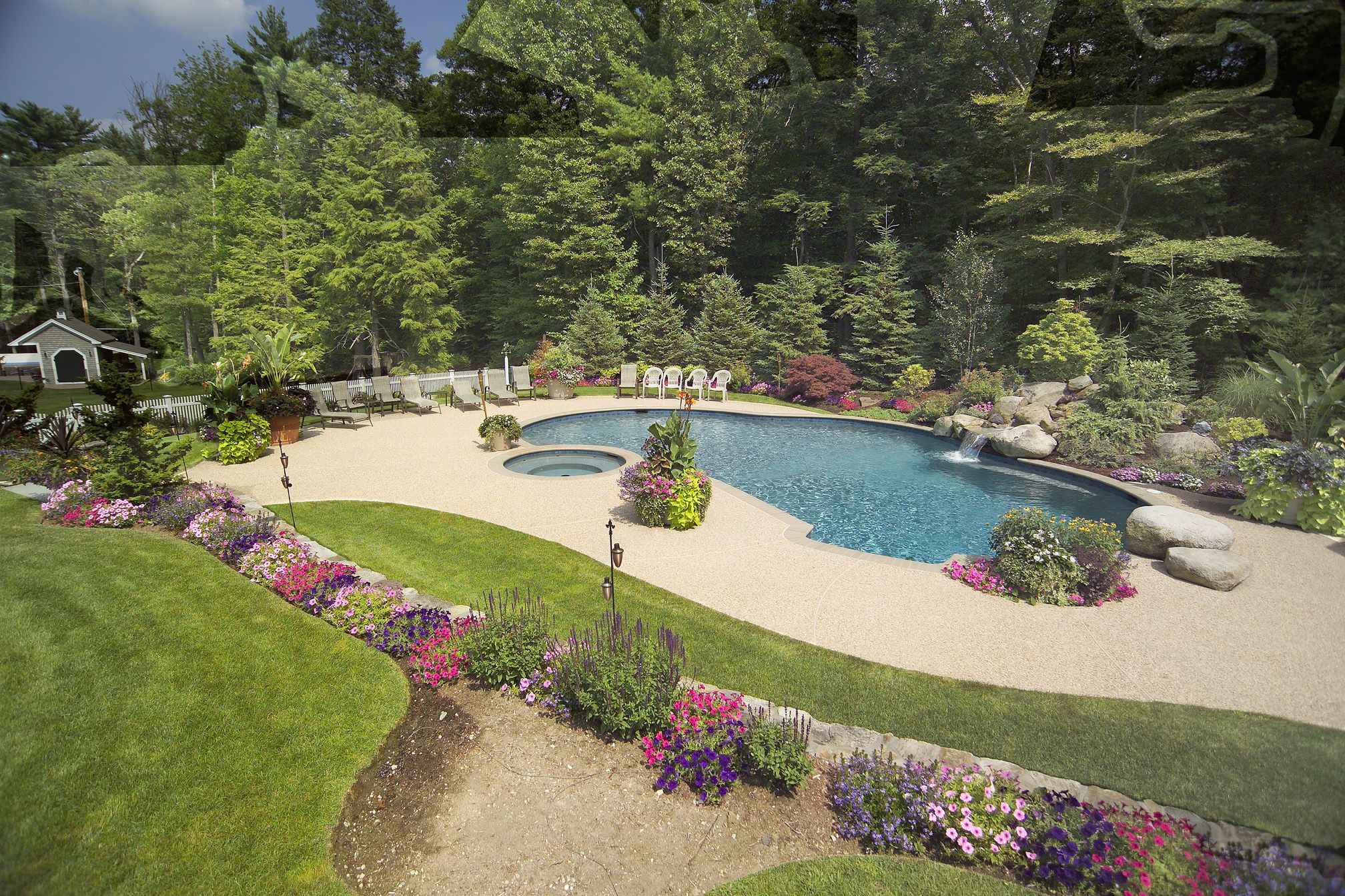 Garden Ideas New England pinkelly curry on pool   pinterest   patios