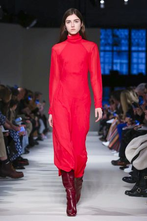 The departure from her usual aesthetic didn't feel too outlandishor out of place; it felt masculine and modern in all the right, timely ways. Slouchy pantsuits, oversized jackets paired...