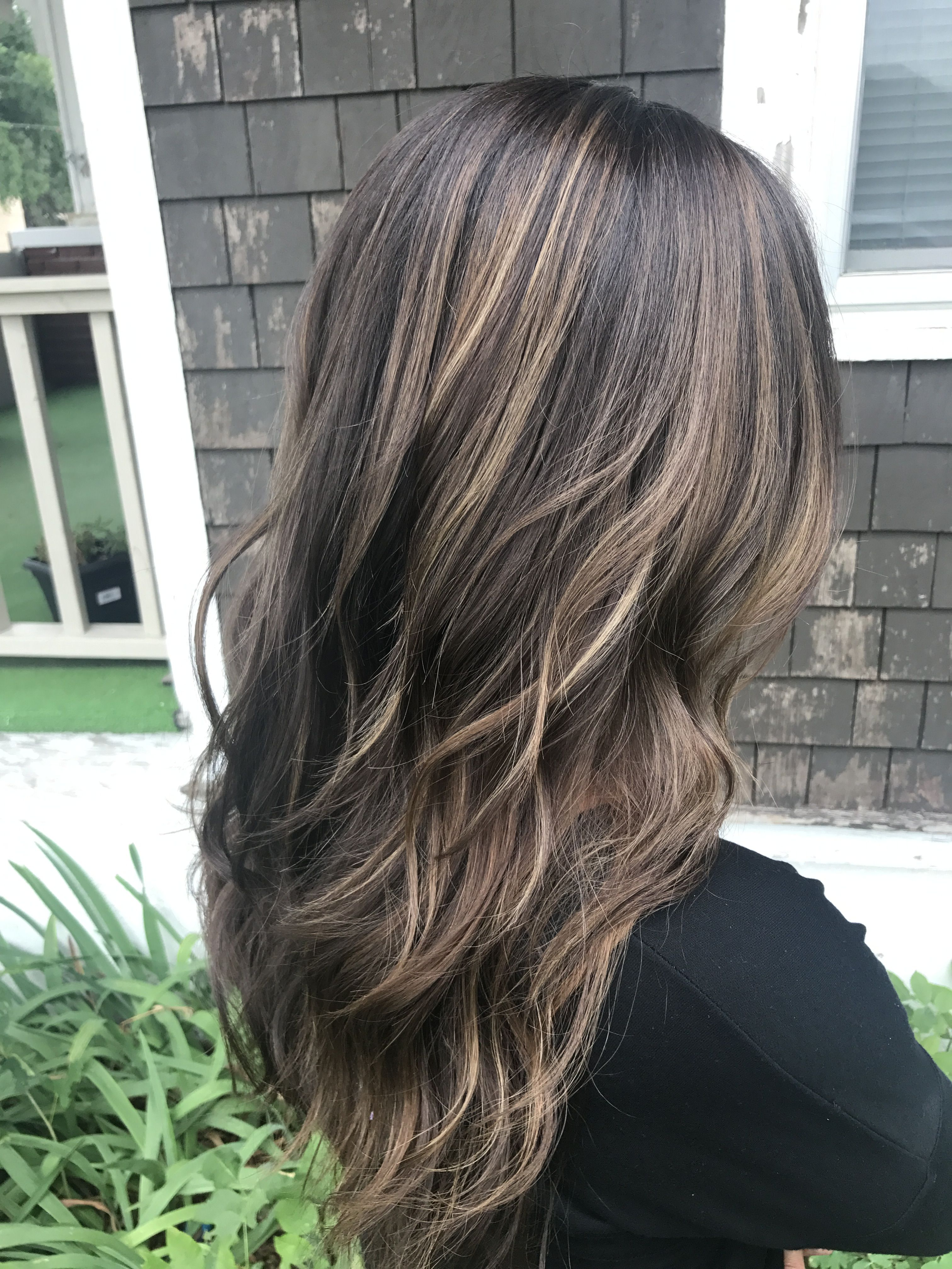 Soft Highlights On Brunette Hair By Lindseymariecolor Make Me