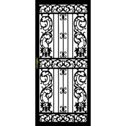 Front Doors · Bird Of Paradise White HINGE (outside View) Right 36 In. X 80  In