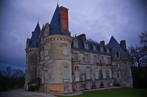 Chateau de Crevy, la Chapelle Caro, Morbihan, France