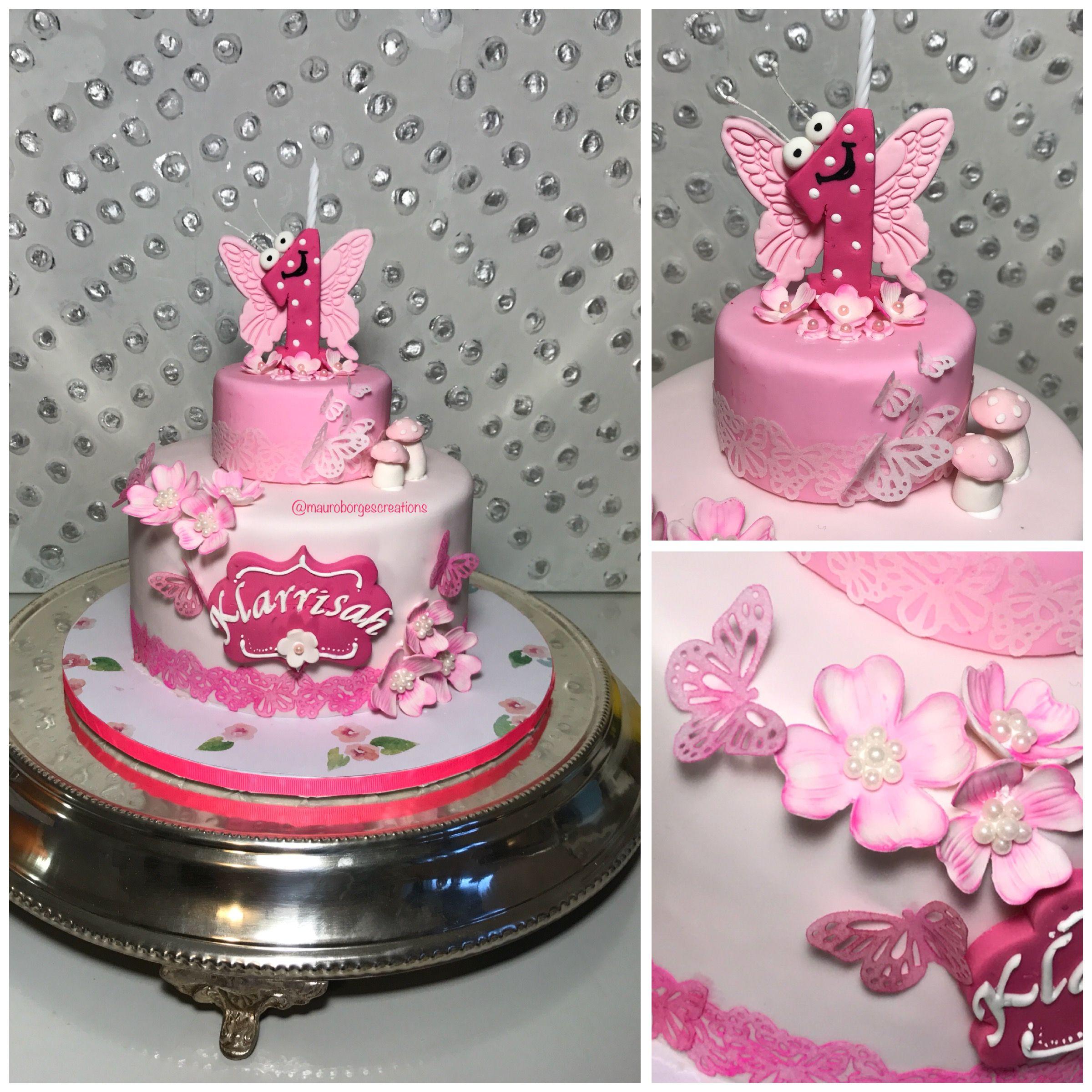 1st birthday cake Instagram mauroborgescreations Mauro Borges