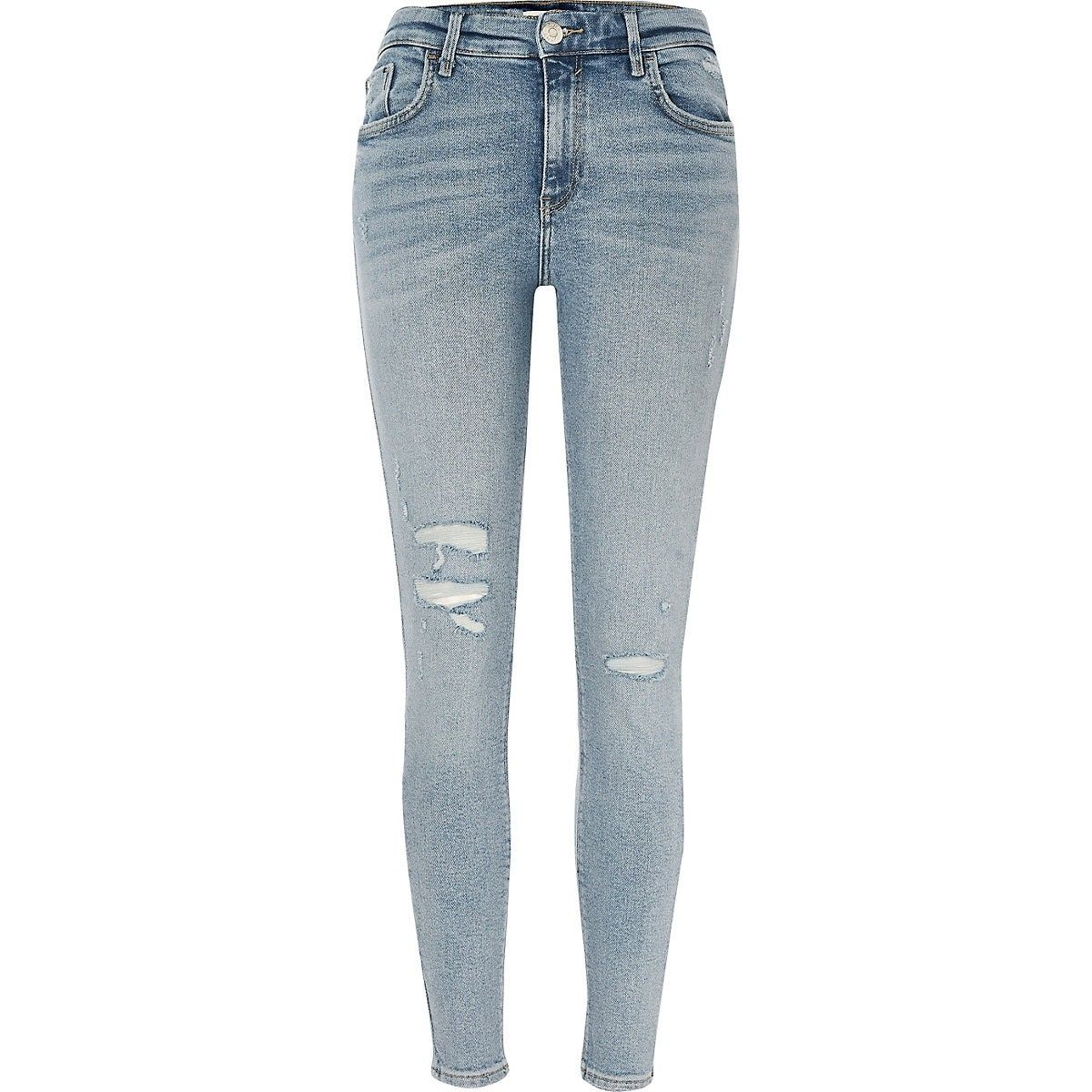 058409db7e1f85 Light blue Amelie super skinny jeans | pants in 2019 | Super skinny ...