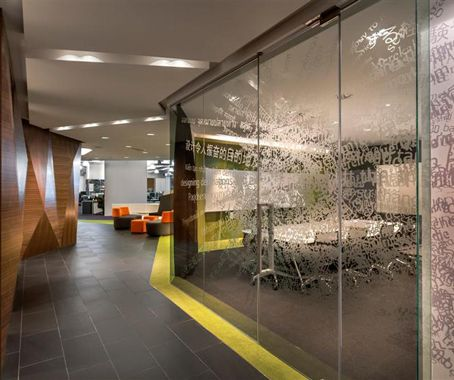 WATG and Wimberly Interiors Office by M Moser Corporate Offices