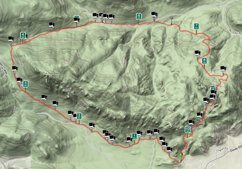 Lumpy Ridge Trail, Estes Park, CO