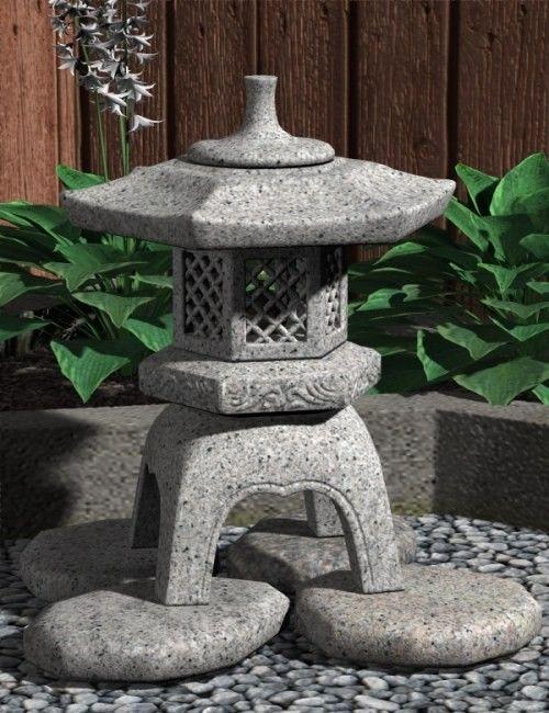 yukimi stone lantern lanterne japonaise pinterest jardins lanterne et lanterne japonaise. Black Bedroom Furniture Sets. Home Design Ideas