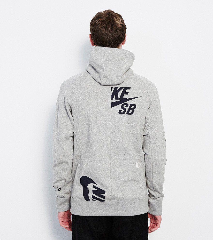 Soulland Webshop Soulland Meets Eric Koston For Nike Sb Cope Everett Fz Hoodie Eric Koston Graphic Sweatshirt Nike Sb [ 990 x 880 Pixel ]