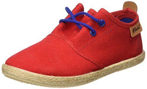 Cheiw 47108 - Chaussures Pour Enfants Unisexes, Piqué Rouge / Napa Pu Chameau, Taille 29