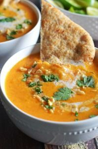 Thai Coconut Curry Butternut Squash Soup - Host The Toast