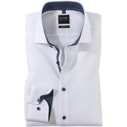 Photo of Olymp Level Five shirt, body fit, Royal Kent, white, 41 Olymp