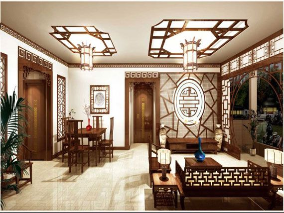 Image detail for Oriental Living Room Interior Decorating Ideas