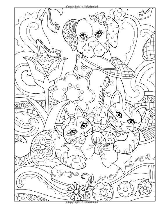 Coloring page | coloring: dogs | Pinterest | Colorear, Mandalas y ...