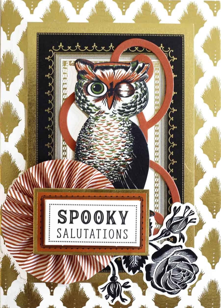 july 11th, 2017- vintage halloween card making kit | card kits