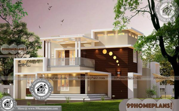 New House Plans and Prices 75+ 4 Bedroom 2 Storey House Design