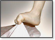 Kräftigung der Fußmuskulatur