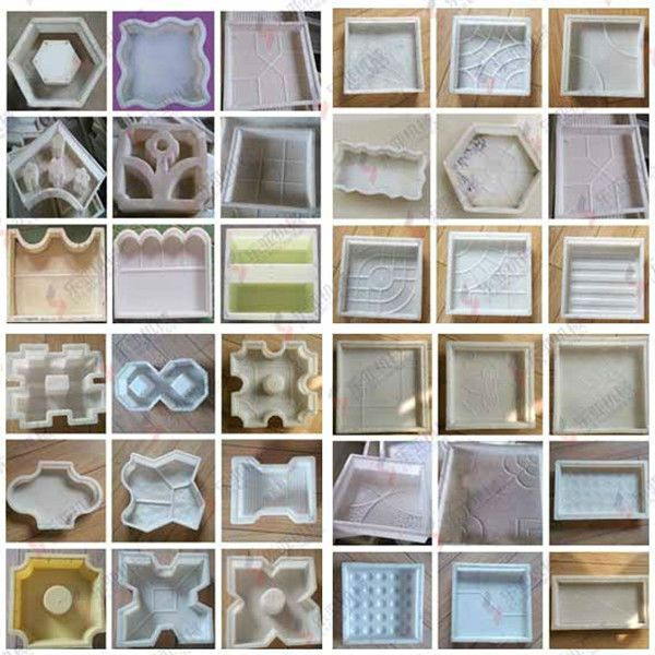 Plastic precast concrete paver mold, View precast concrete