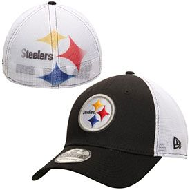 e02cb7b62 Get this Pittsburgh Steelers Fade Classic 39THIRTY Flex Fit Cap at  ThePittsburghFan.com