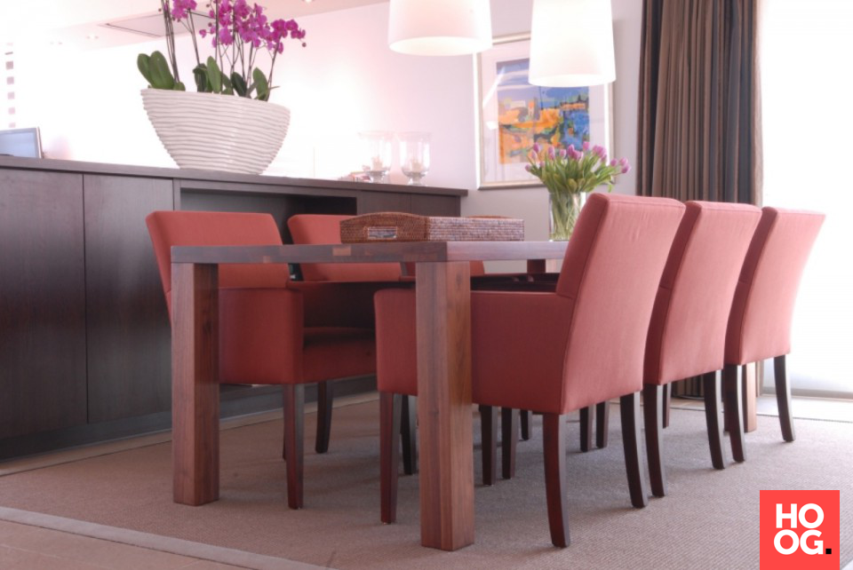 Luxe woonkamer inspiratie | Inrichting grote woonkamer met kleur ...