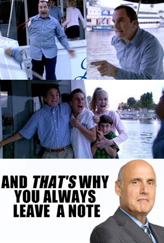 Arrested Development: And Thats Why . . . You Always Leave a Note