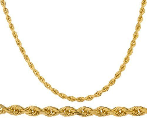 569d3bd507c6 14kt Yellow Gold Rope Chain 7.0 mm Width 8.5 Inch Long (30.3 Grams) by RG D