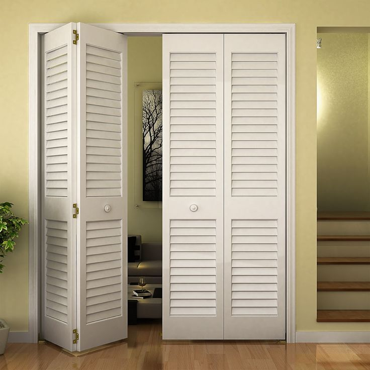 Louver bifold door  plantation slats thick also best closet images in rh pinterest