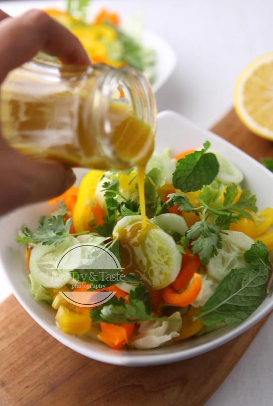 Honey Mustard Salad Dressing Saus Salad Resep Masakan Masakan