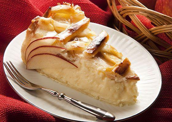 Torta de maçã com Catupiry.   20 receitas que provam que o Catupiry é o maior brasileiro de todos os tempos