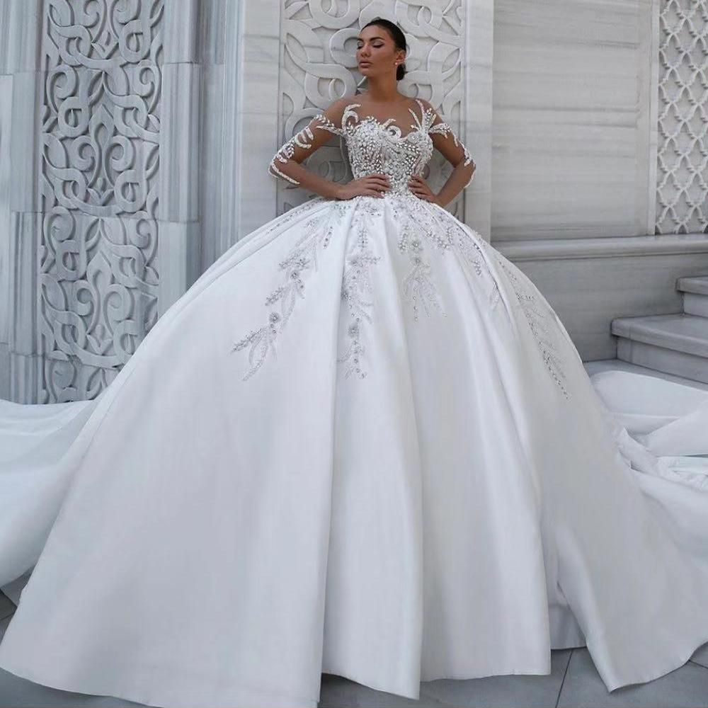 19++ Puffy wedding dresses lace ideas in 2021