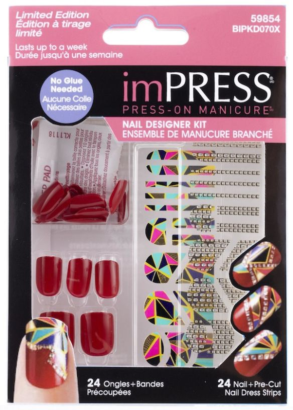 Limited Edition Impress Nail Designer Kits By Cheryl Burke Want Pls