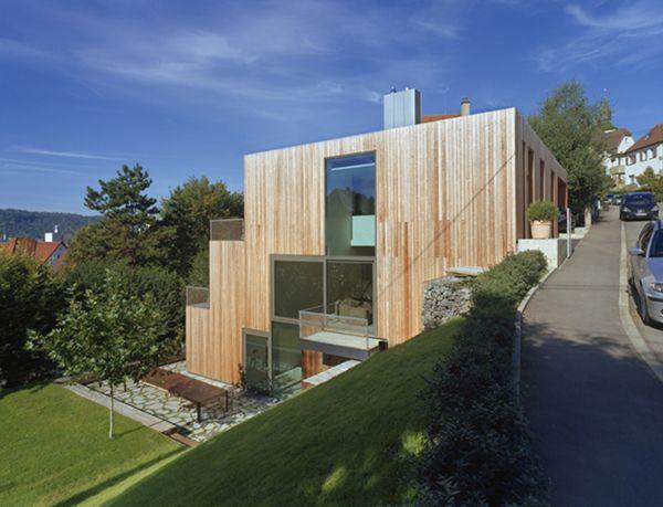 Moderne holzhäuser am hang  MVRDV_Haus Am Hang | hausideen | Pinterest | Traumhäuser, Urlaub ...