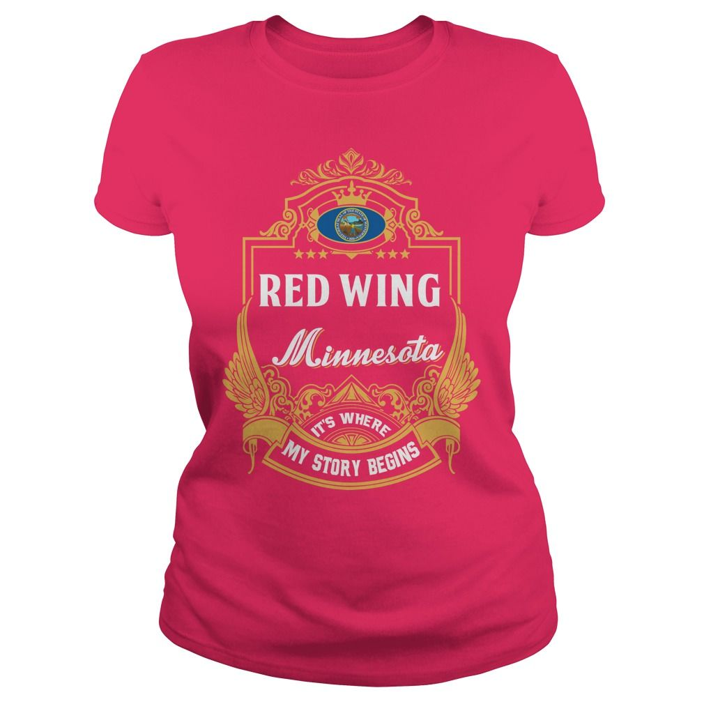 Order this limited edition Red Wing_Minnesota T shirt