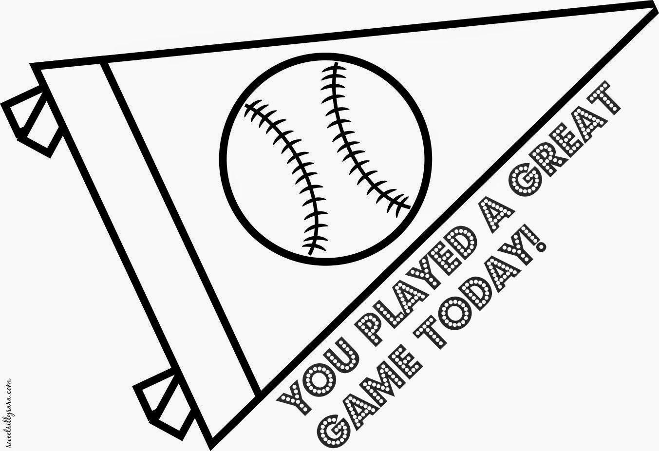 printable baseball team coloring pages - photo#14