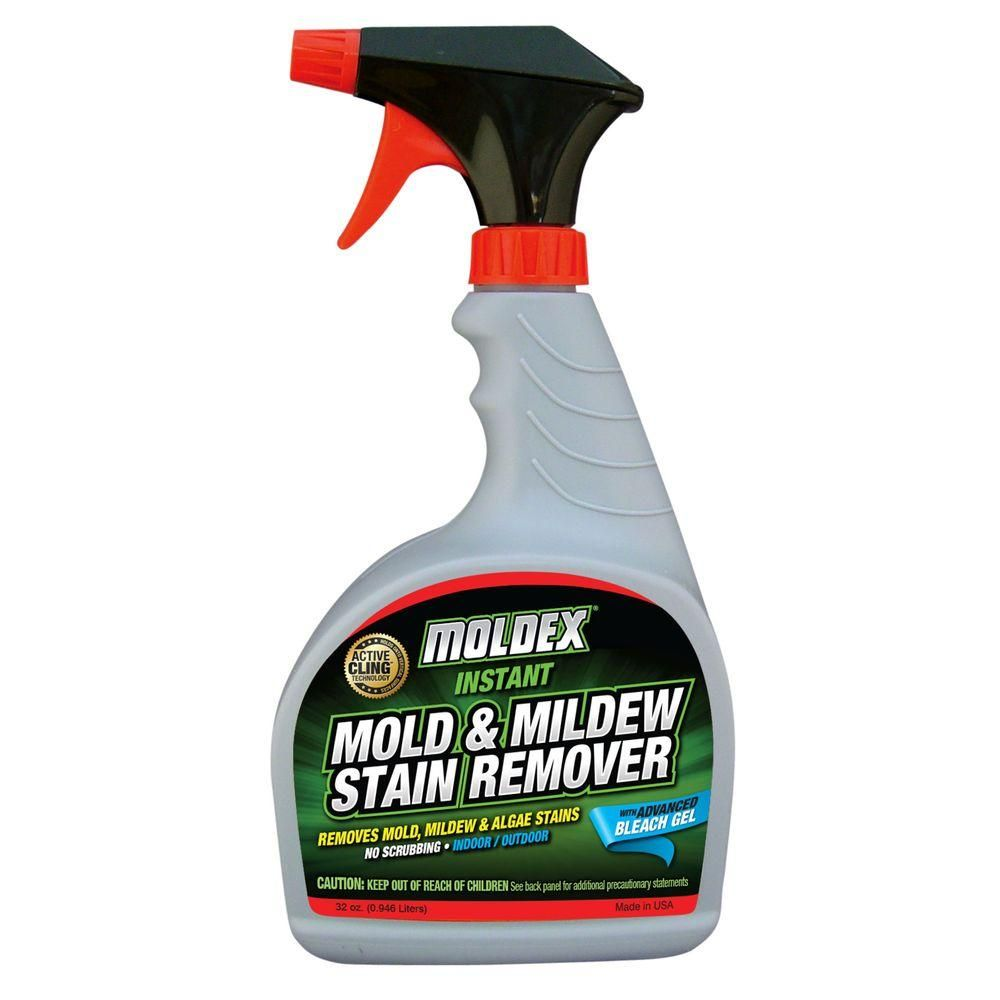 Moldex 32 Oz Instant Mold And Mildew Stain Remover Mildew Stains Mold Remover Mold And Mildew