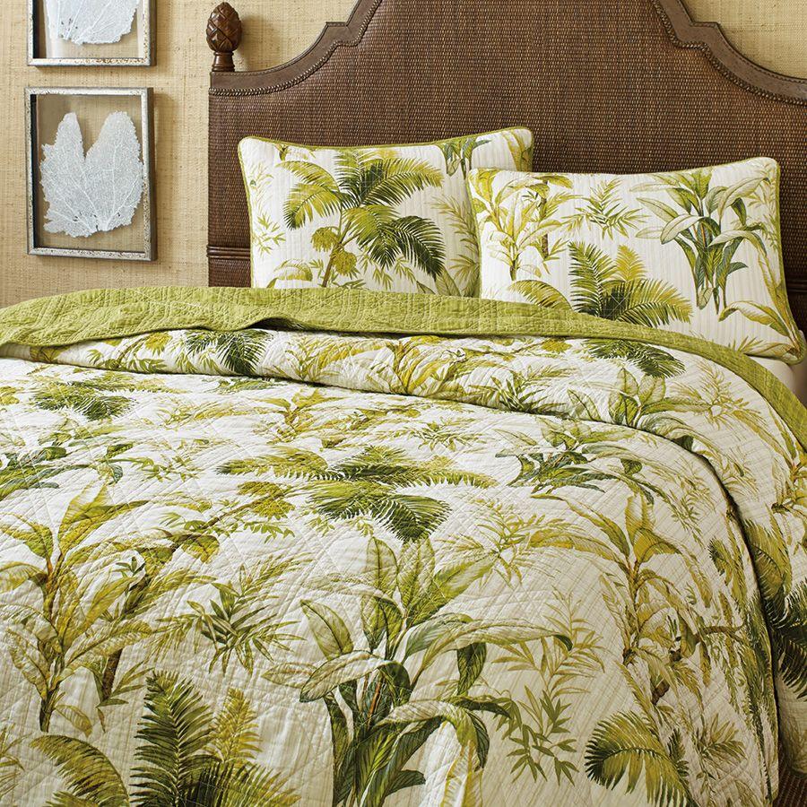 Tommy Bahama Island Botanical Quilt. Guest Bedroom DecorBedroom ...