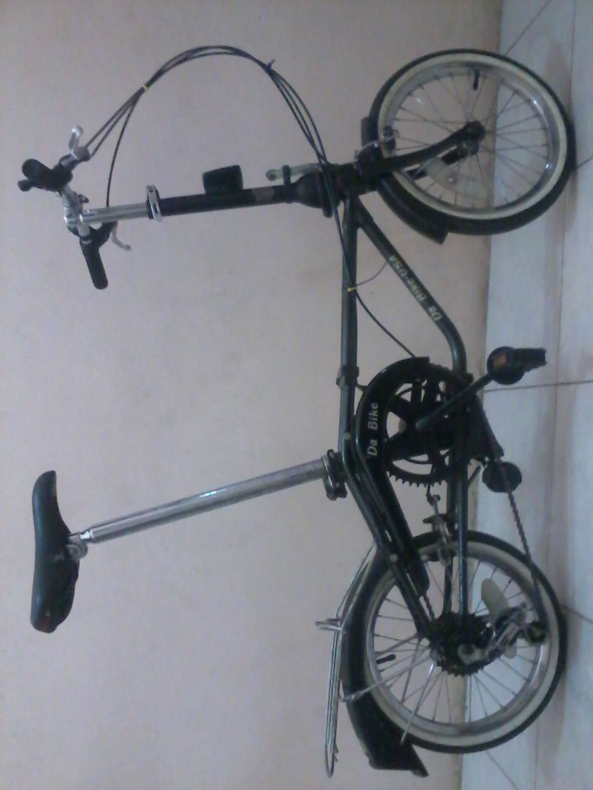 Dahon Da Bike Blue (Dengan gambar)