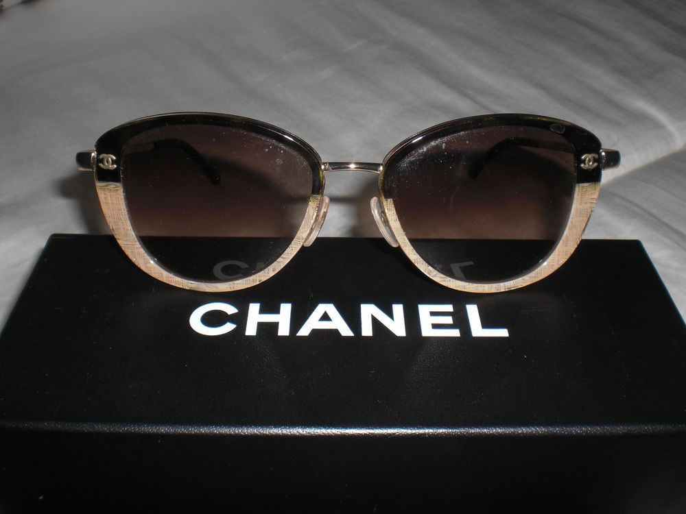 5ceae299c1bd CHANEL SUNGLASSES 100% AUTHENTIC OCH0409238 | Clothing, Shoes &  Accessories, Women's Accessories, Sunglasses & Fashion Eyewear | eBay!