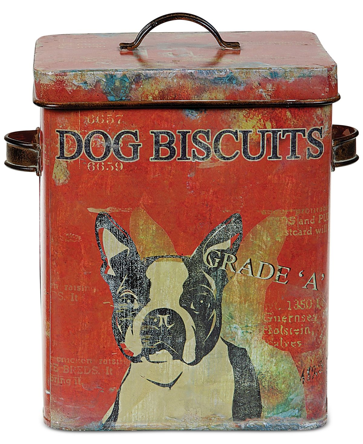 3r Studio Tin Dog Biscuit Container Reviews Serveware Dining