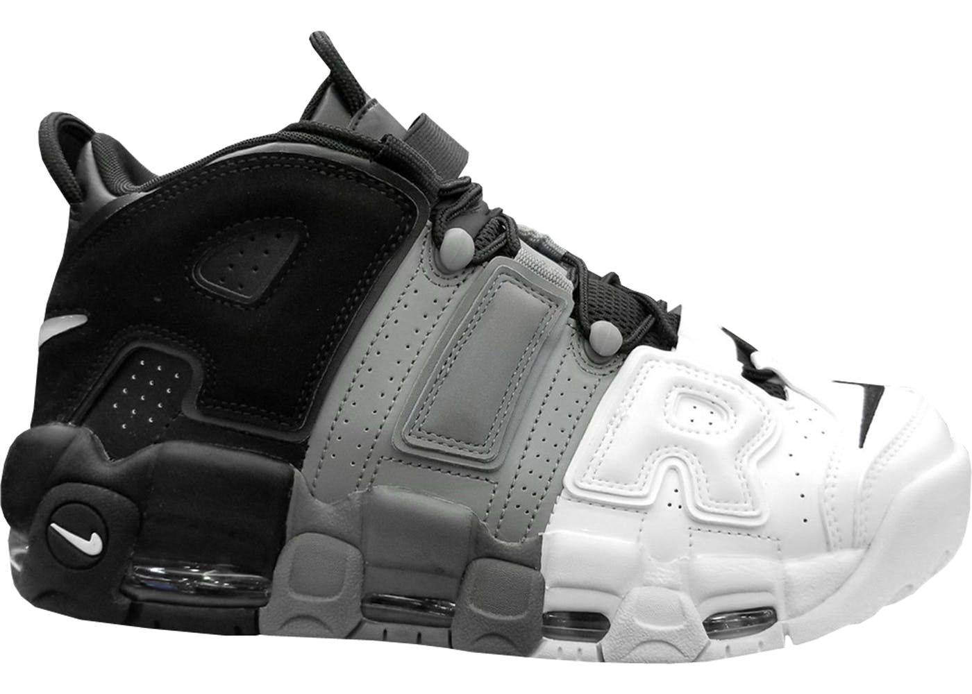 Nike More Uptempo Tri Color | just nutted to these sneakers