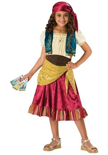 Child Gypsy Girl Costume Cool costumes Pinterest Costumes - halloween ideas girls
