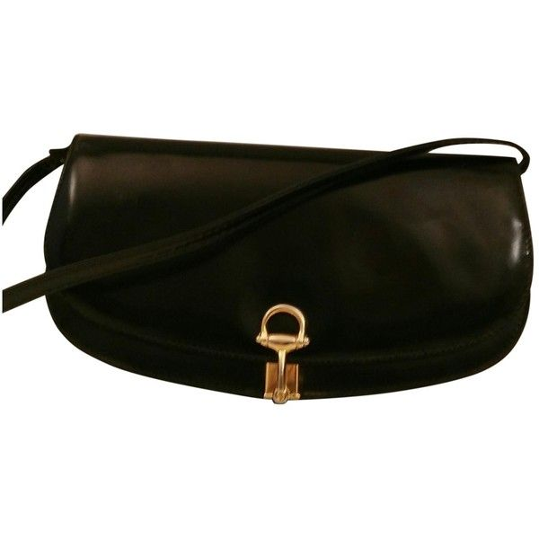 Gucci Pre-owned - Black Leather Clutchbag