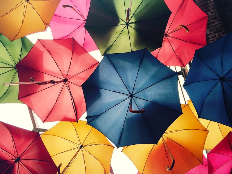 Another fun and colorful jigsaw puzzle is here! Today we feature a Canopy made of lots of colorful umbrellas. Click start and put the umbrellas back together as fast as you can and get top place on our leader boards.