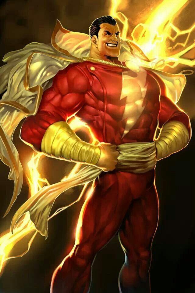 Captain Marvel Shazam Anime Comic Wallpaper Pinterest