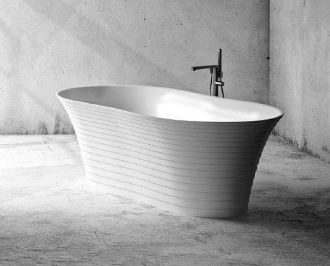 Badezimmer Wanne ~ Freistehende badewanne mineralguss badewanne freistehende