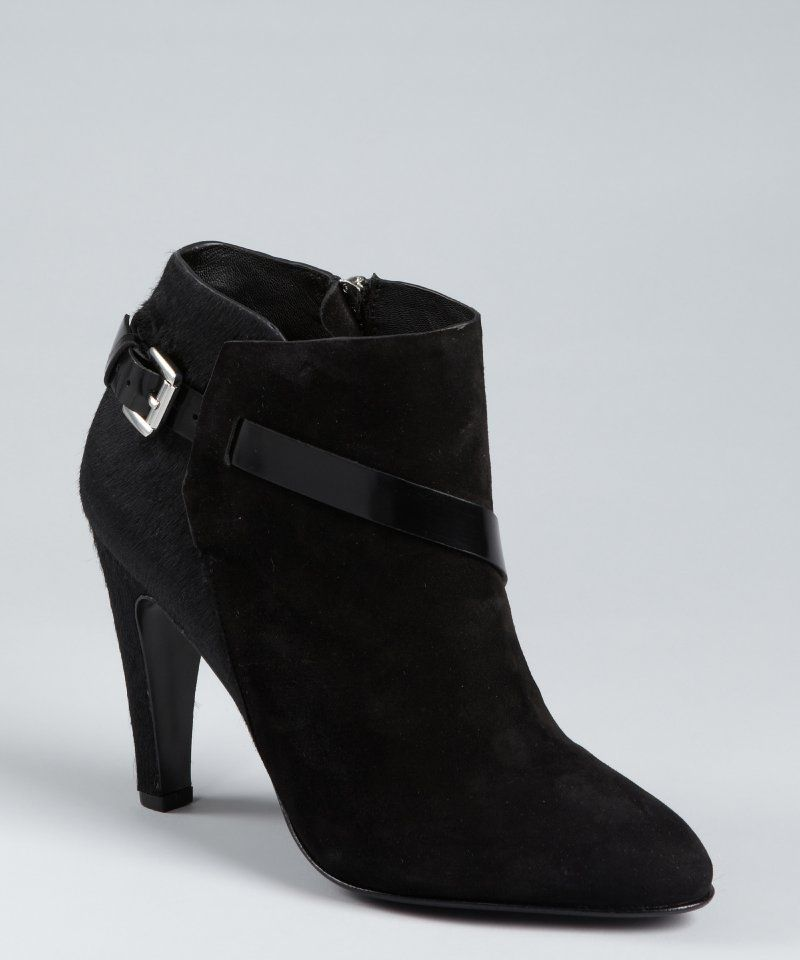 fb72650a5b3 Costume National Women s Blade Suede Ankle Boots