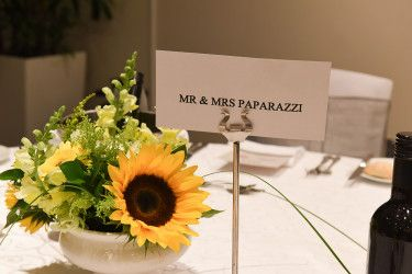 Mr mrs theme zara rom wedding sunflowers bouquet wedding mr mrs theme zara rom wedding sunflowers bouquet wedding table decoration junglespirit Choice Image