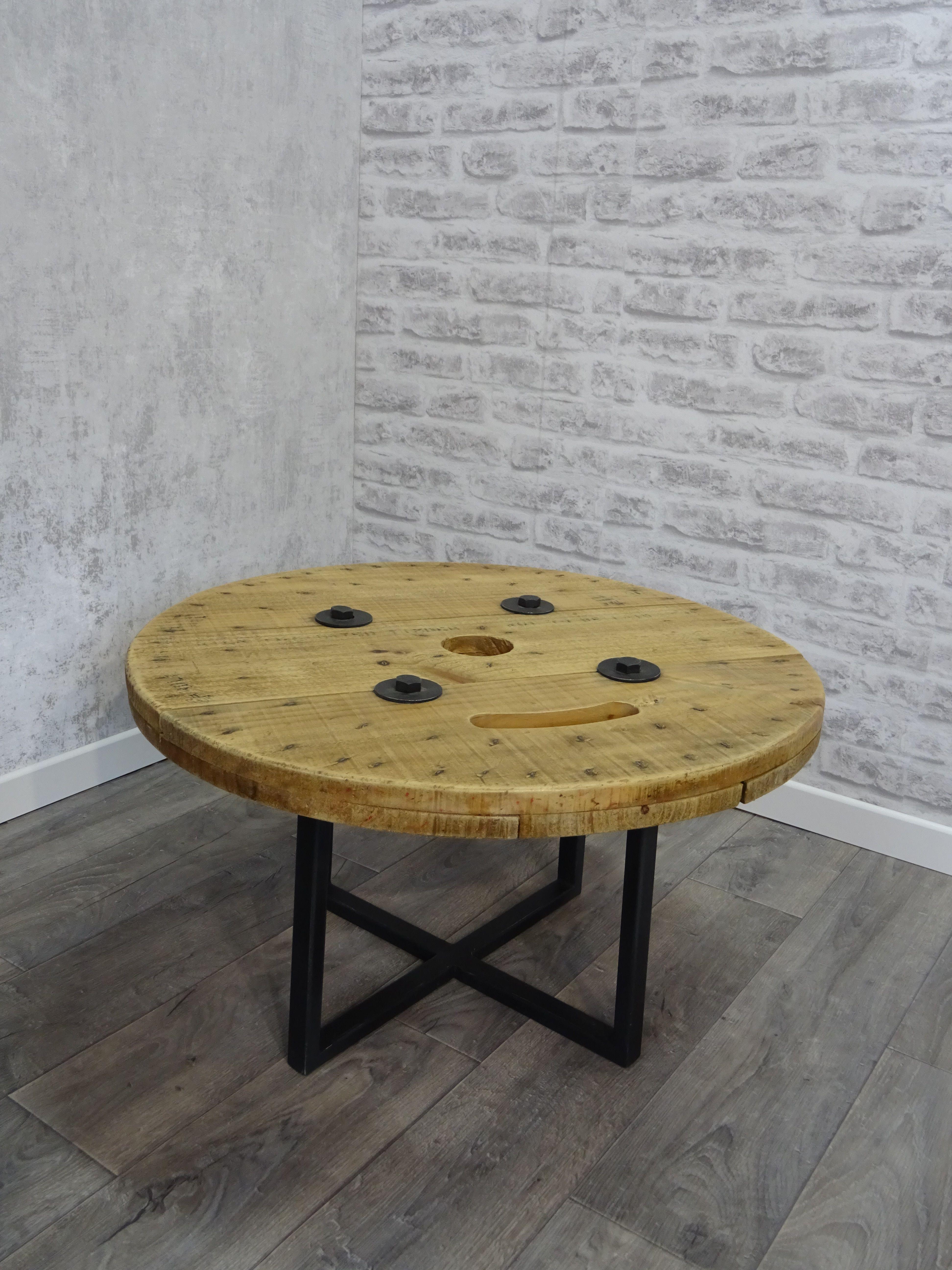 Table Basse Touret Couleur Naturel Hauteur 41 Cm Dimensions