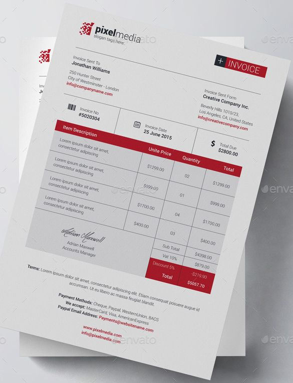 Business Bill Of Sale Invoice Template  Invoice Template For Mac