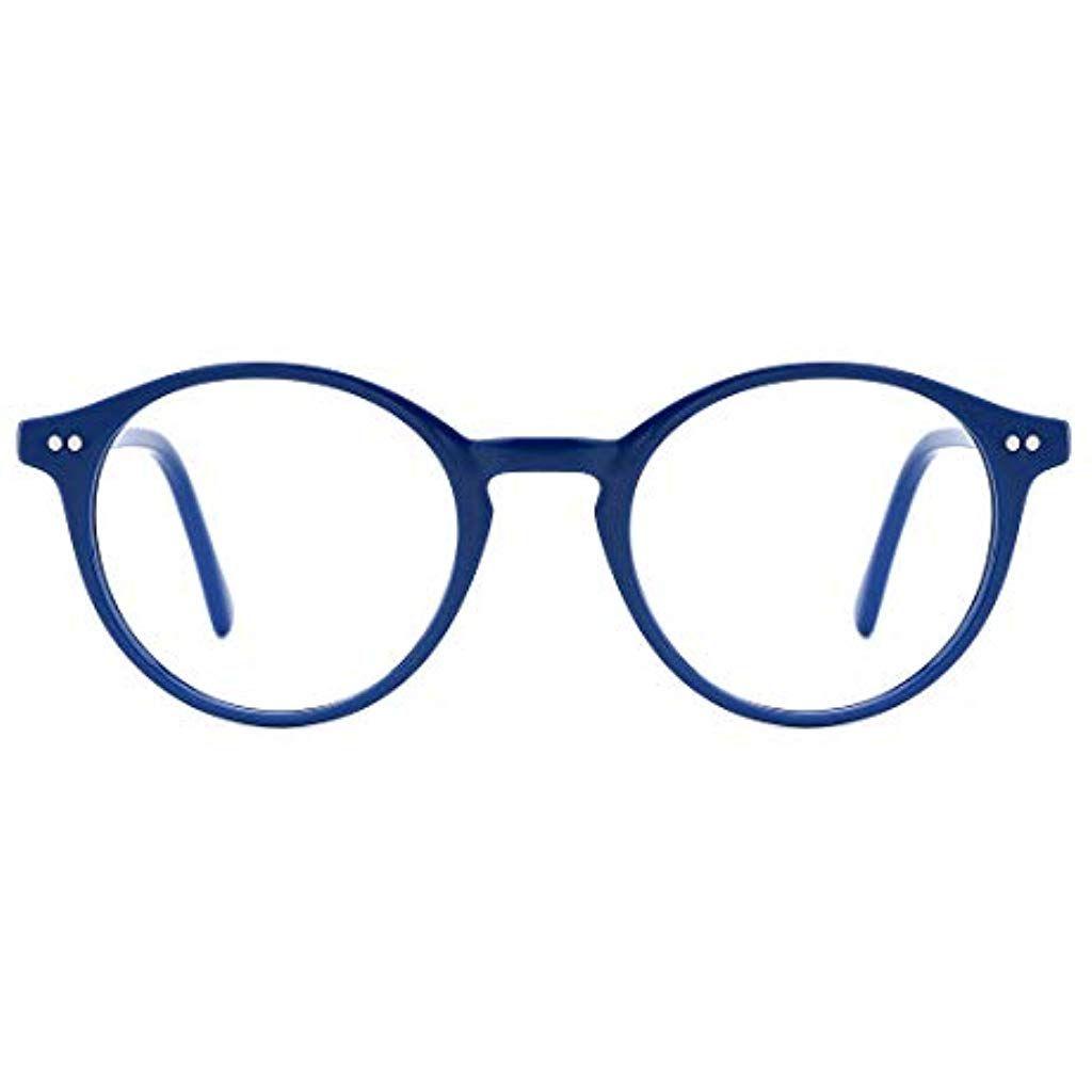 TIJN Occhiali luce blu Filtro luce blu occhiali Montature Occhiali da Vista Occhiali per Computer anti Eyestrain Occhiali da vista per Donna Uomo