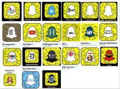 20 Media Snapcodes Medien auf Snapchat von Profilagentin Kixka Nebraska. Happy Snapping!